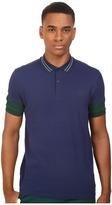 Fred Perry Panelled Sleeve Pique Shirt