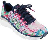 Skechers Tropical Print Sneaker Wedges - SpringEssential