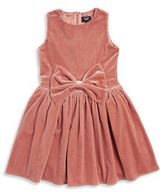 Bardot Girl's Bow Velvet Dress