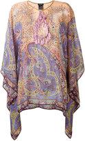 Etro tassel detail tunic - women - Silk/Viscose/glass - L
