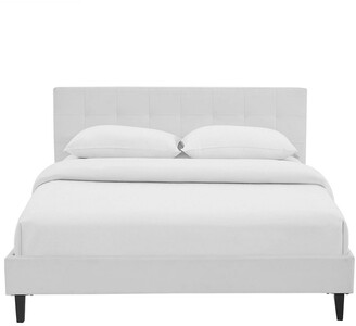 Modway Linnea Faux Leather Bed