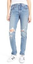 Women's Levis 501 Ripped Skinny Jeans