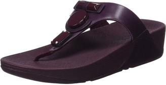 FitFlop Women's GLAMORITZToe-Thong Sandals Platform