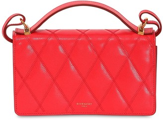 Givenchy GV3 QUILTED LEATHER CROSSBODY BAG