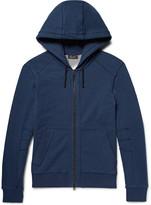 Belstaff - Fleming Loopback Cotton-jersey Zip-up Hoodie