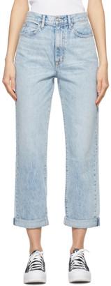 SLVRLAKE Blue Crosby Jeans