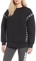 Ivy Park Women's Laced Sweatshirt