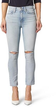 Hudson Holly High Waist Ankle Skinny Jeans