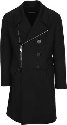 Neil Barrett Travel Zip Double Breasted Coat