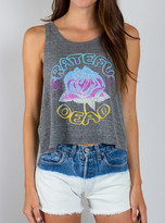 Junk Food Clothing Grateful Dead Cropped Tank