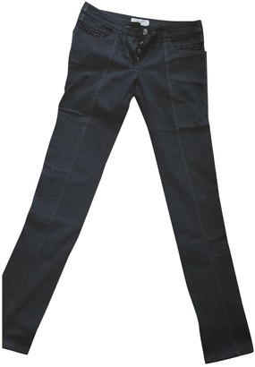 Christian Dior Black Denim - Jeans Trousers