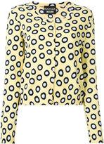 Moschino spot cardigan - women - Cotton - 42