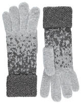 George Glitter Effect Knitted Gloves