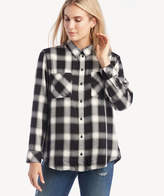 Sanctuary Women's New Generation Boyfriend Shirt In Color: Be Real Plaid Size XS From Sole Society