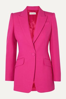 Alexander McQueen Wool-blend Blazer - Pink