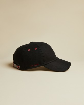Ted Baker FERNLY Stitch detail wool baseball cap