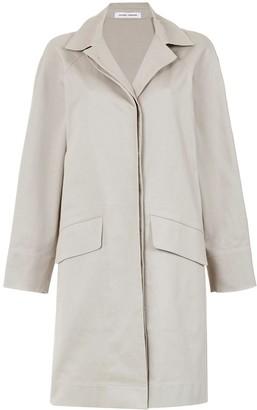 Side Slits Cape Coat