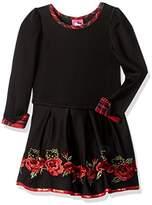 Hello Kitty Girls' Long Sleeve Dress