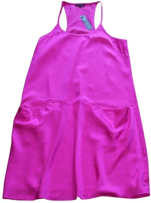Theory Pink Silk Dresses