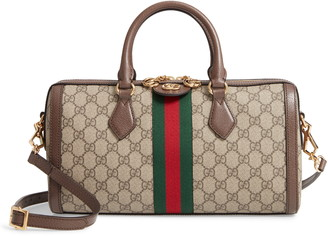 Gucci Ophidia GG Supreme Canvas Top Handle Bag