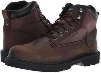 Skechers Makanix - Mennot (Black) Men's Work Boots