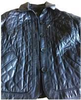 Bogner Black Leather Jacket for Women