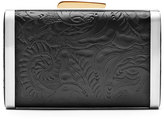 Hayward Tooled Leather & Snakeskin Clutch Bag