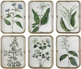 The Well Appointed House Blue Floral Wall Art Collection-Set of 6