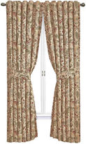 Waverly Imperial Dress Rod-Pocket Curtain Panel with Tieback
