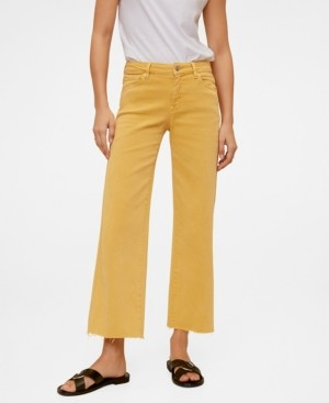 MANGO Jeans Culotte Mid Waist