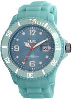Ice Watch Ice-Watch Men's Ice-Winter SW.CN.B.S.11 Green Silicone Quartz Watch with Green Dial