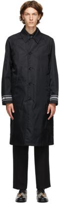 Burberry Reversible Black and White Keats Coat