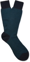 Pantherella - Blenheim Merino Wool-blend Socks