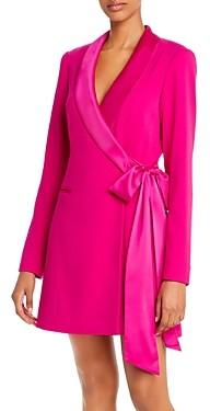 Jay Godfrey Roxy Crepe Blazer Dress