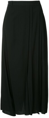 Masnada High-Waisted Raw Edge Trousers