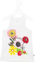 Stella McCartney floral print tank top - kids - Cotton - 2 yrs