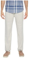 Tommy Bahama Beach Linen Elastic Waist Pants (Stone Khaki) Men's Casual Pants