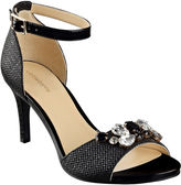 Liz Claiborne Heidy Jeweled Heeled Sandals