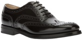 Church's patent leather brogues