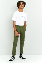 Farah Whiteley Green Pleated Twill Chinos