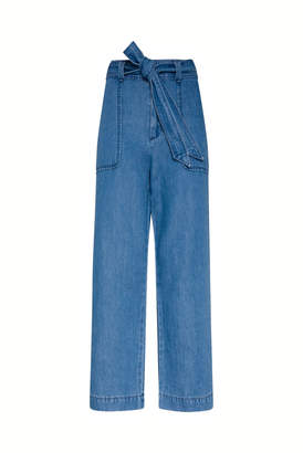 Gerard Darel Large 7-8 Denim-style Pants
