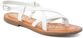Musse & Cloud Women's Sandals WHT - White Strappy Iron Leather Sandal - Women