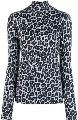 Paul Smith leopard print sweater