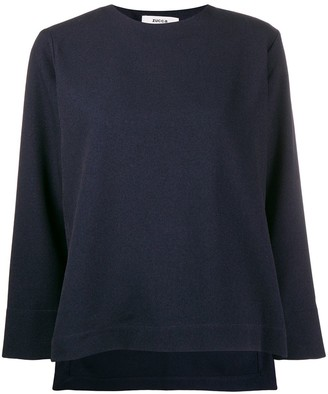 Zucca Knitted Sweatshirt