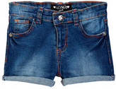 XOXO Stretch Denim Short (Little Girls)