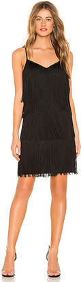 1 STATE Fringe Slip Dress