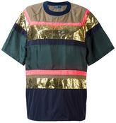 Kolor panelled T-shirt