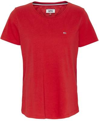 Tommy Jeans Crew-Neck T-Shirt with Short Sleeves