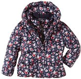 Tommy Hilfiger Girl's ET57124216 Printed Mini Bomber Jacket