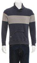 Trovata Distressed Pullover Sweatshirt